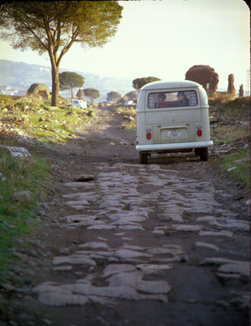 Appian Way and camperbus